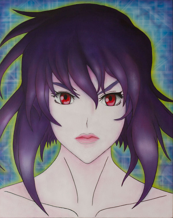 Major Motoko Kusanagi Portrait