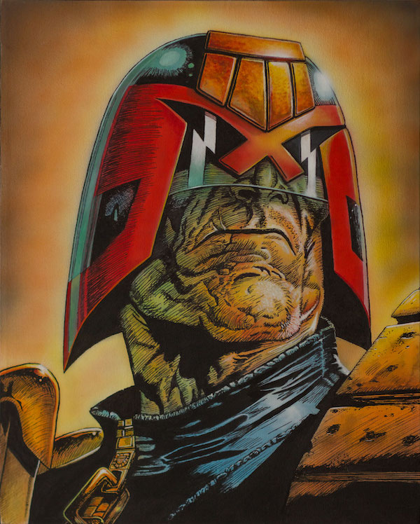 Judge Dredd Portrait