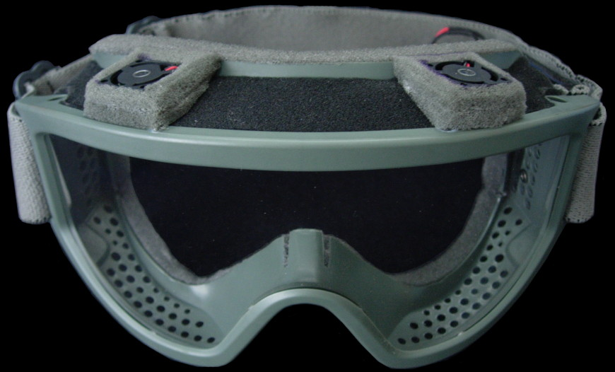 Airsoft Goggles (ESS Military Land Ops™) Fan Mod
