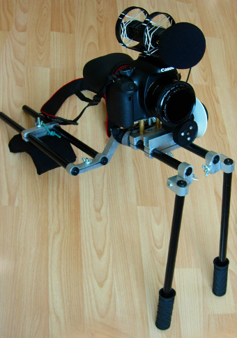 DIY DSLR Camera Shoulder Rig