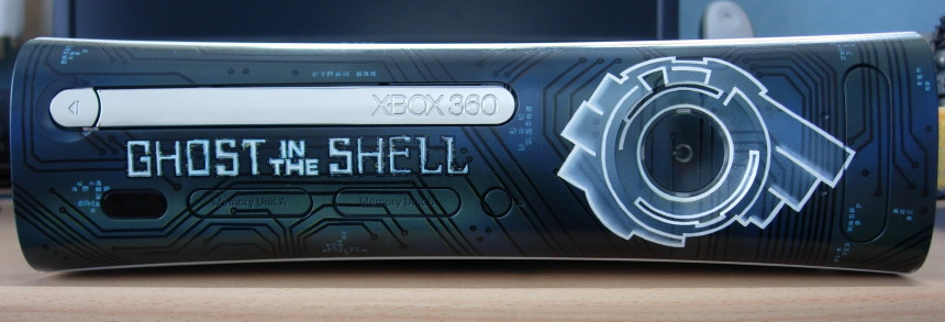 Ghost in the Shell XBOX 360 Faceplate