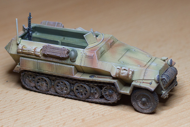 Bolt Action: German Hanomag Half-Track