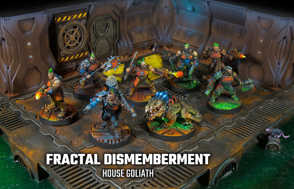 Necromunda Gang: House Goliath