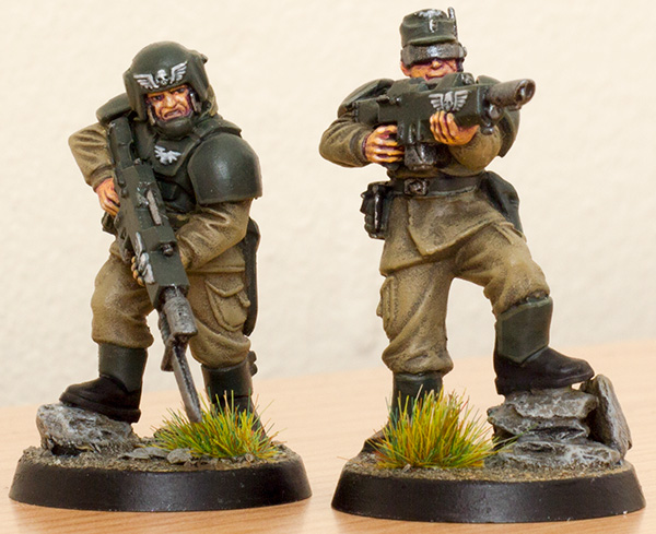 Imperial Guard Cadian Shock Troops for Only War