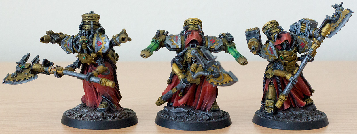 Mechanicum Myrmidon Secutors
